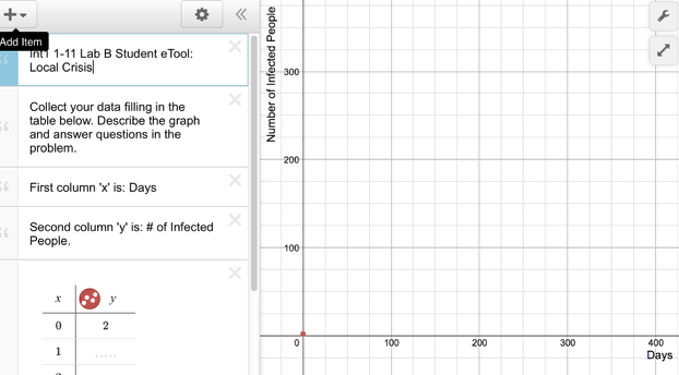 Int1 1-11 Lab B Student eTool (Desmos):