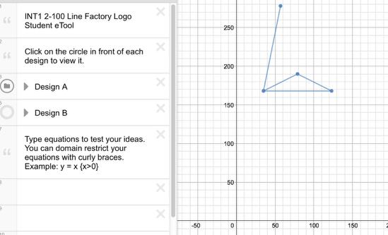 INT1 2-100: Design A