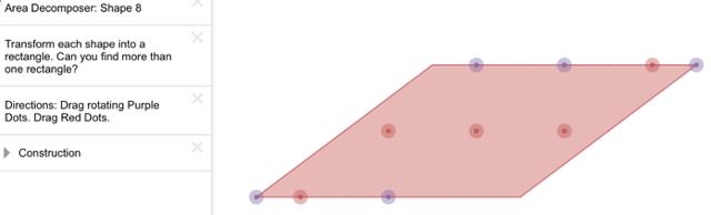 Area Decomposer: Shape 8