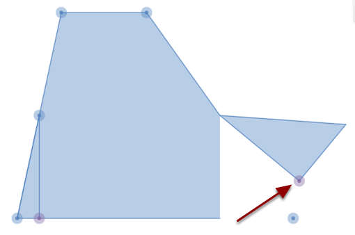 Drag the PURPLE handles to rotate a figure piece.