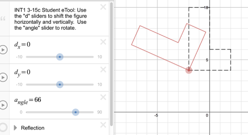 3-15c: Drag the Angle Slider to view the rotation.
