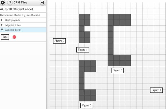 Drag tiles to create Figure 0 and Figure 4.