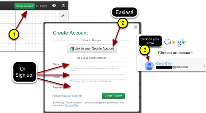 TASK: Get a Desmos Account
