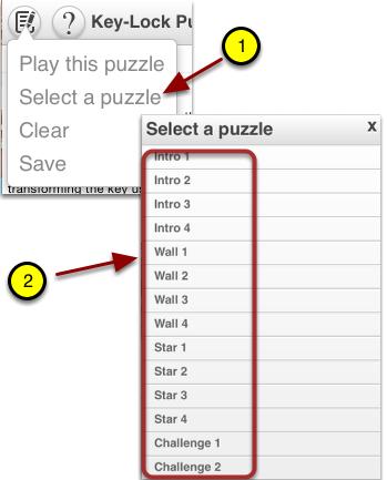 Explore Built-In Puzzles: