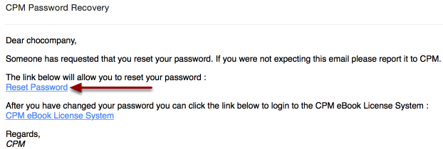 "Click ""Reset Password."""