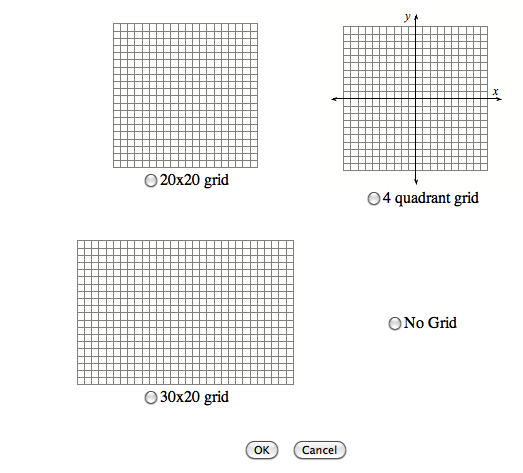4. You can choose from these grids.