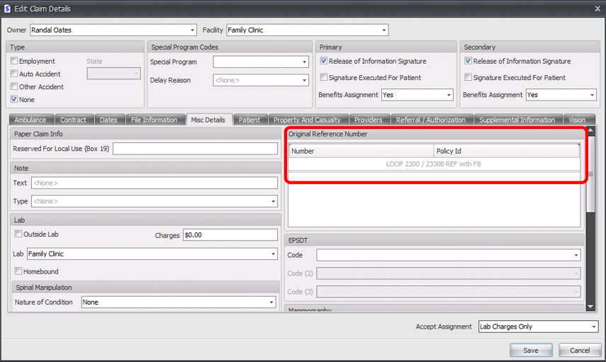 Changes to data entry in SOAPware for new form