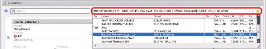 6. Pharmacy Selection