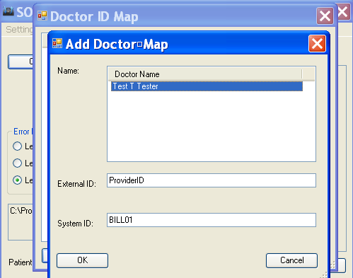 Doctor ID Map