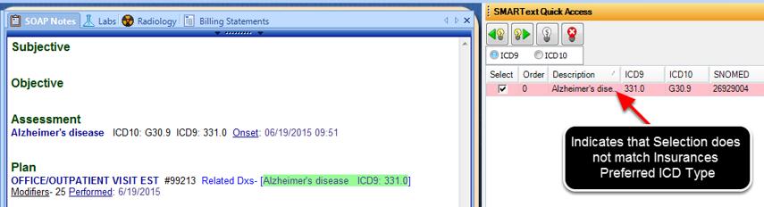 - ICD-9/ICD-10 Toggle