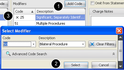 Edit Modifiers