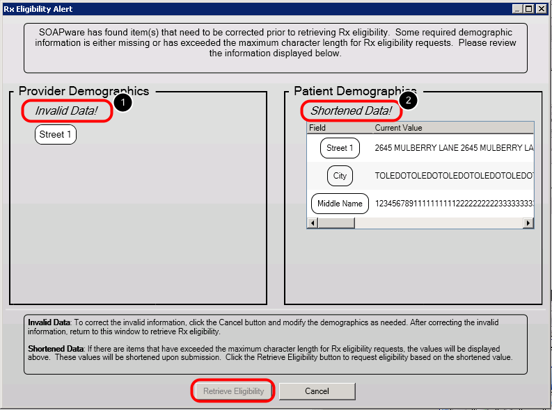 Retrieving Eligibility in Rx Manager