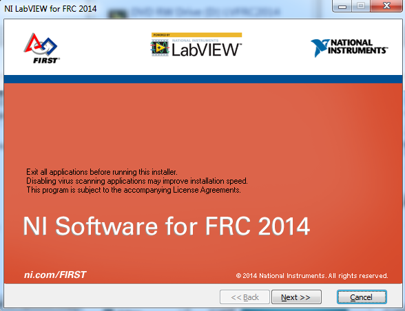 Installer warnings