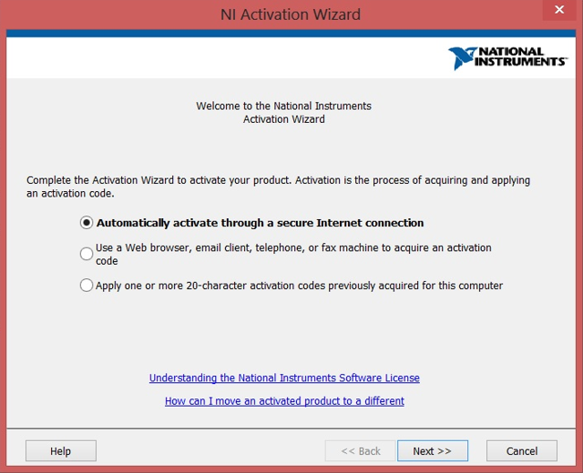 Activation Options