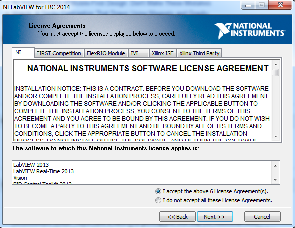 License Agreements