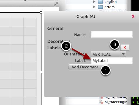 Adding labels to dashboard widgets