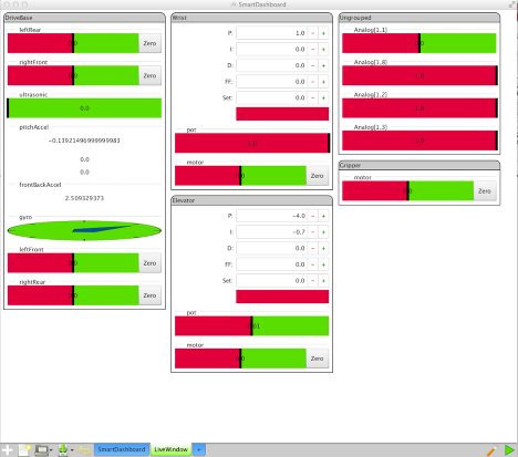 The SFX user interface