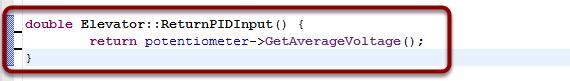 Set the ReturnPIDInput method to return voltage