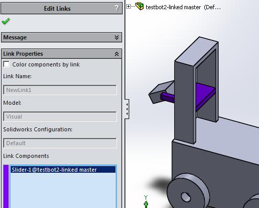 Set link components