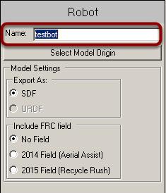 Name the Robot Model