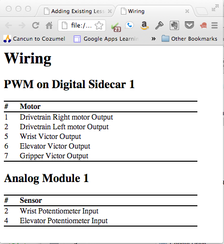 View the wiring file your web browser