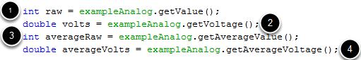 Reading Analog Values