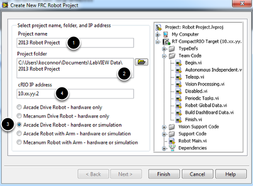 Configuring Project