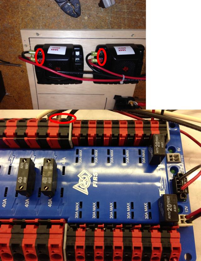 Motor Controller Power