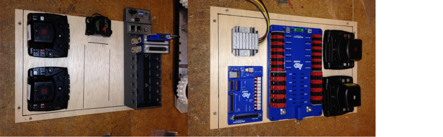 Layout the Core Control System Components