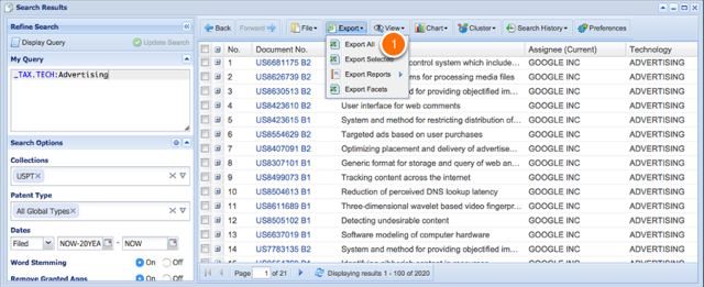 3. For Large Lists:  Export then Use Number Search Feature