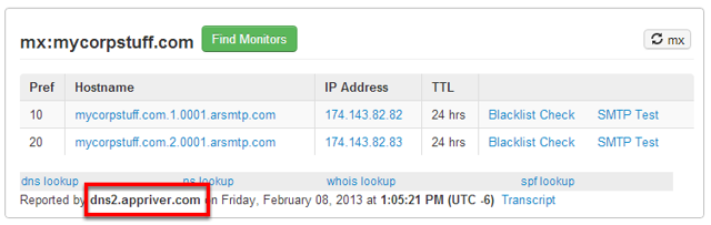 Who hosts my DNS?