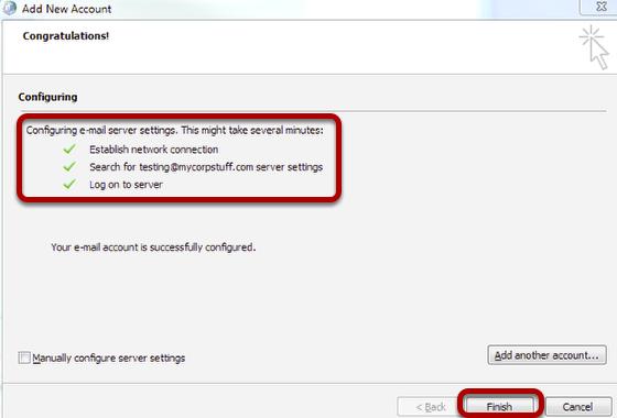 All Server Settings Verified