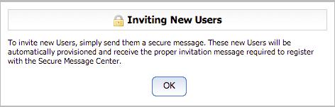 Invite a new user