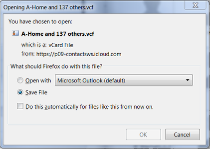 3. Exporting Contacts