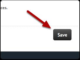 Select Save