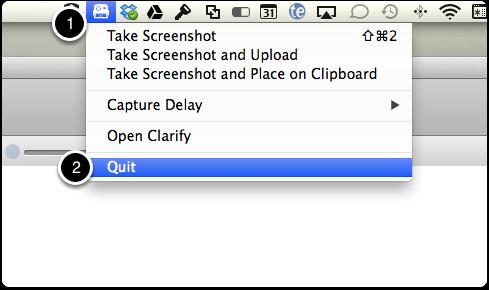 Quit Clarify 1 Helper