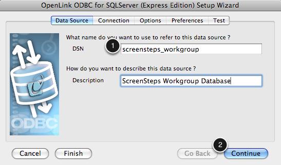 Configure Data Source