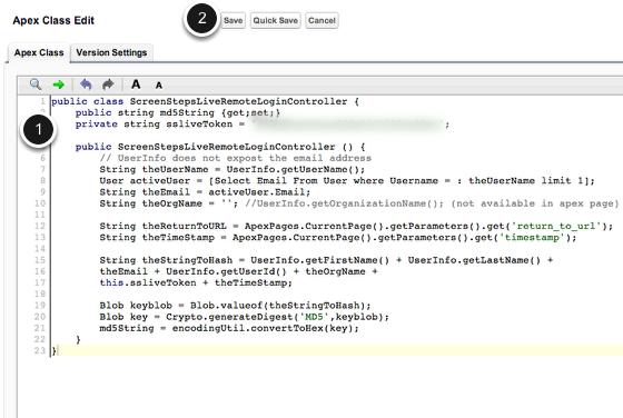 Paste In ScreenStepsLiveRemoteLoginController Code