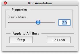 Adjust Blur Amount