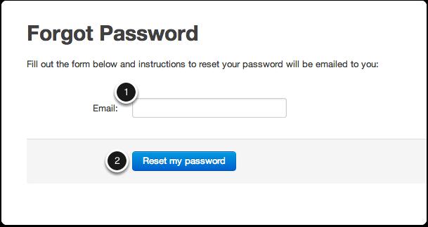 Go to Forgot Password