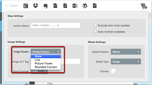 Select Image Border