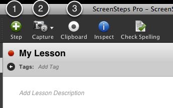 Capture Images/Create Steps
