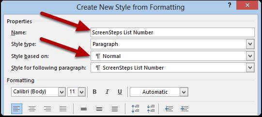 ScreenSteps List Number, ScreenSteps List Number 1, ScreenSteps List Number 2, ScreenSteps List Number 3, ScreenSteps List Number 4, ScreenSteps List Number 5, ...
