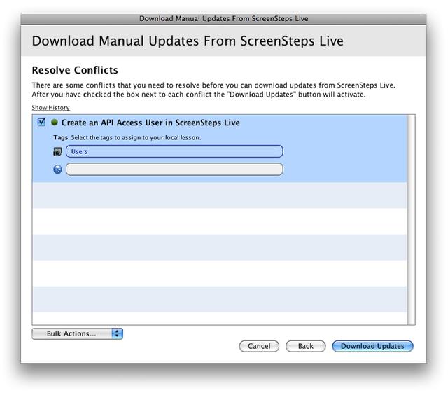 Download Updates