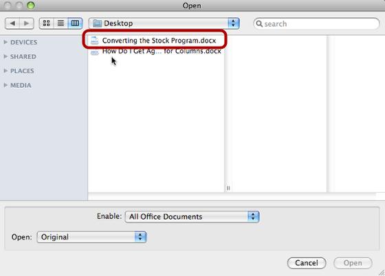 Open Manual DOCX File