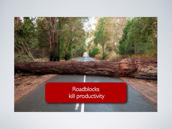 Goal 1: Remove Roadblocks