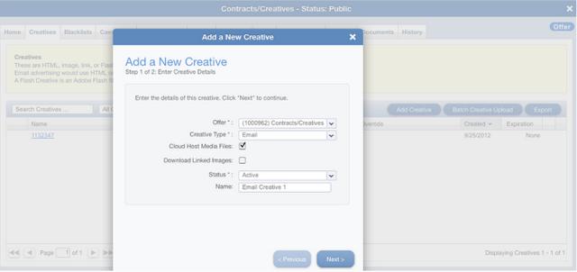 Adding the creative