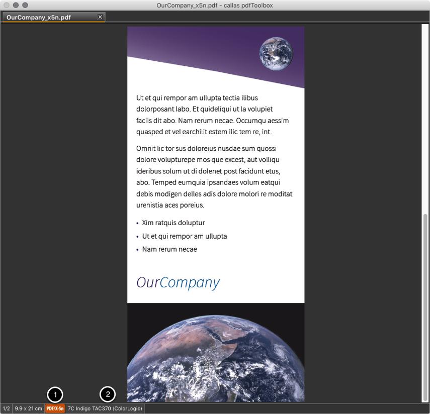 PDF/X-5n Dateien bekommen eigenes Symbol im Dokument-Fenster