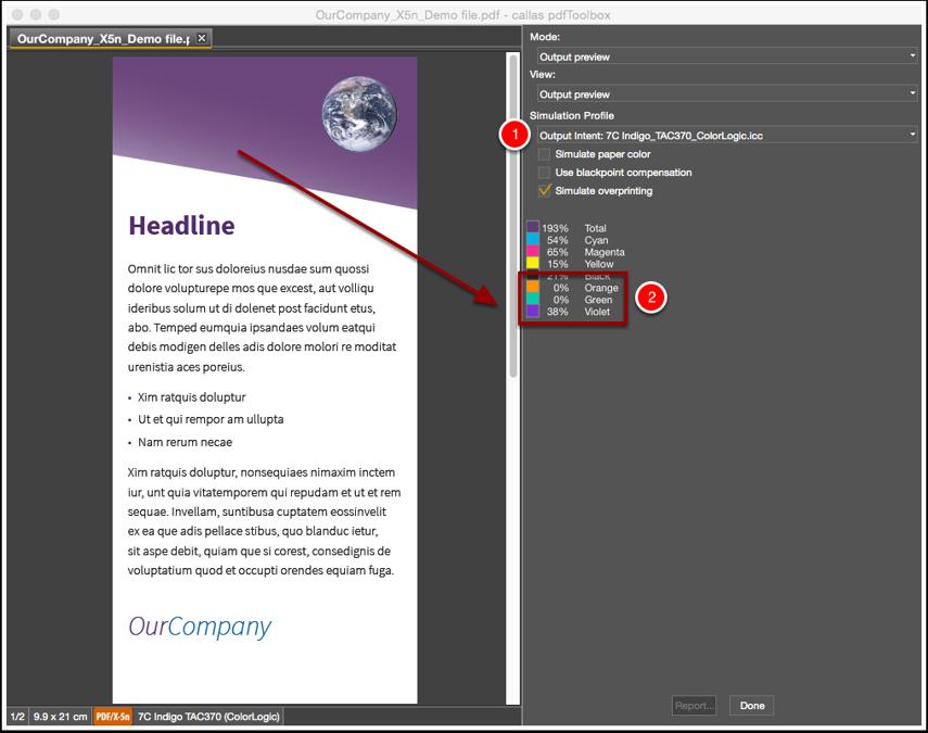 Inspect PDF file