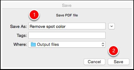 Save the PDF file